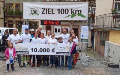 DOTLUX unterstützt beim 100mal100 Spendenlauf