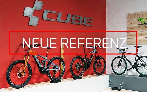 DOTLUX setzt die Bike Marke CUBE ins perfekte Licht