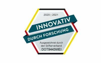 """DOTLUX erhält Gütesiegel """"Innovativ durch Forschung"""""""