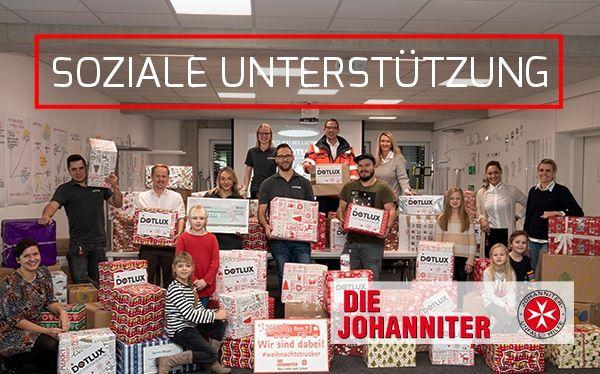 DOTLUX hilft – Johanniter Weihnachtstrucker 2020