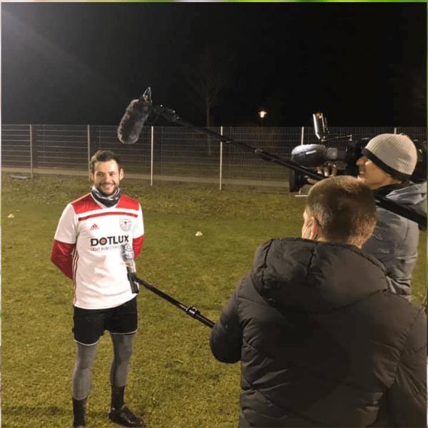 DOTLUX Trikotsponsor vom TSV Weißenburg im TV